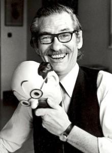 Bob de Moor at the Studio Hergé